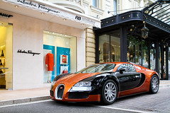 One Of The Best (Raphal Belly) Tags: orange black paris car de french photography eos hotel riviera noir photographie russia 4 casino montecarlo monaco mc belly exotic 7d passion 164 16 russian raphael bugatti nero rb supercar spotting ch eb w16 supercars 1001 veyron noire raphal principality ettore