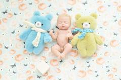 "baby (Sculpey Living Doll) / OOAK ( ""one of a kind"") (AlexEdg) Tags: macro toy toys miniature doll babies teddy handmade ooak polymerclay windowlight livingdoll 60mmf28 2013 60mmf28dafmicronikkor alexedg alledges nikond300"