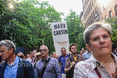 Marc Carson March (steffiekeith) Tags: family gay usa ny newyork man sign lesbian death march community crowd demonstration lgbt killed queer vigil antigay hatecrime christinequinn marccarson