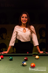 layna /  (llus) Tags: woman pool girl amman pooltable layna   amigopub  baramigos