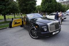 Rolls Royce Phantom Cabrio (SzoszonBratku) Tags: vienna house chevrolet mercedes spider team italia martin ferrari monaco camaro josh mclaren porsche morgan audi 3000 fiskar vien bentley aston gumball f12 lamborgini berlinetta gumbal 458 cartu