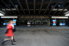 walk this way (Ian Muttoo) Tags: street toronto ontario canada gimp motionblur handheld ufraw sonycentrefortheperformingarts dsc24271edit