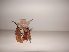 Yoda (corvo_nero) Tags: star origami yoda wars kawahata fumiaki