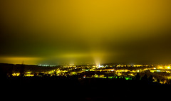 Point of ascension (The Adventurous Eye) Tags: light church point landscape midnight ascension zbýšov