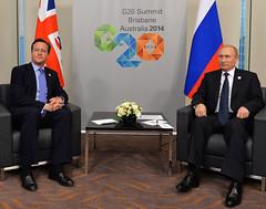 PM meets President Putin (The Prime Minister's Office) Tags: president brisbane putin austalia g20 arronhoare