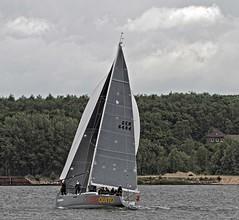 """AKKA"" Finnflyer 36 (winchman2010) Tags: sailing segeln regatta yachts boats kiel baltic ostsee welcomerace"