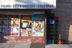 Bay Ridge Deli, Brooklyn (Jack Toolin) Tags: newyorkcity urban signs brooklyn storefronts stores bayridge urbanphotography urbanwalls urbanstudies jacktoolin