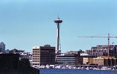 Seattle Space Needle (rwl7532) Tags: nikonf4 expiredfilm fppc41kit uniroller352 104 fpp