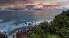 North Narrabeen lookout (FPL_2015) Tags: leefilter gnd09 nd18 canon1635f4lis canon6d landscape northnarrabeen northernbeaches sydney australia sunset rocks ocean water seascape