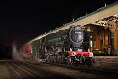 Evening Express (Treflyn) Tags: pines express br standard class 9f 2100 92220 eveningstar 92214 loughborough central station timeline events photo charter