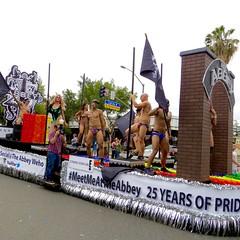 IMG_6231 (danimaniacs) Tags: losangeles westhollywood gay pride parade hot sexy man guy stud shirtless bikini speedo swimsuit trunks pole dance float
