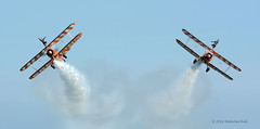 Wing Walkers - Airbourne (178) (Malcolm Bull) Tags: include airbourne eastbourne airshow 20160813airbourne1221edited1web breitling wing wingwalkers wingwalker walker walkers