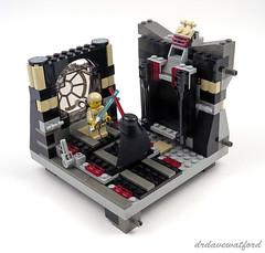 10123 Luke and Vader indoors (drdavewatford) Tags: lego starwars cloudcity 10123 lukeskywalker darthvader minifigures
