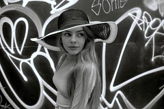 Wavey (plot19) Tags: liv olivia family fashion fasion manchester model teenager girlpotrait woman hat nikon north northwest northern plot19 photography portrait pose love england english urban britain british blackandwhite black blackwhite