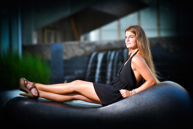 Devon Tower Senior Portrait in Oklahoma City