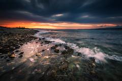 Listen.. (Croosterpix) Tags: seascape sunset sea landscape nikond610