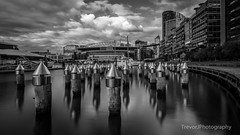 Victoria Harbour & Etihad Stadium (trevorjphotography) Tags: victoriaharbour docklands melbourne australia eithadstadium landscape waterscape clouds dramatic highcontrast longexposure le blurrywater ndfilter neutraldensityfilter fotga boat yacht marina canoneos5dmarkii ef1740mmf4lusm