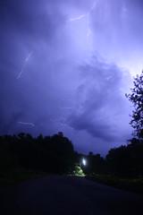 street lighting [Explore] (~Jim Peacock~) Tags: lightning thunderstorm nature wisconsin night nightsky