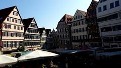 Marktplatz Tbingen (eagle1effi) Tags: markttreiben auf dem wochenmarkt marktplatz tbingen s5 tubingen tuebingen pano panorama