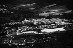 Norcia B/W (l.cutolo) Tags: tlp worldtrekker nex7 italy norcia cityscape oldtown borgo tele umbria bw emount monochrome blackwhite e18200mmf3563oss