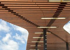 Albufeira (Hans van der Boom) Tags: vacation holiday europe portugal algarve albufeira roofing wood lines pt