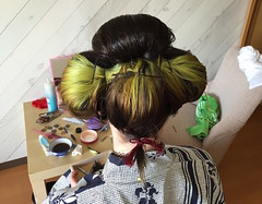 IMG_0407 (SALZ Tokyo) Tags: nihongami 日本髪 japanesehair