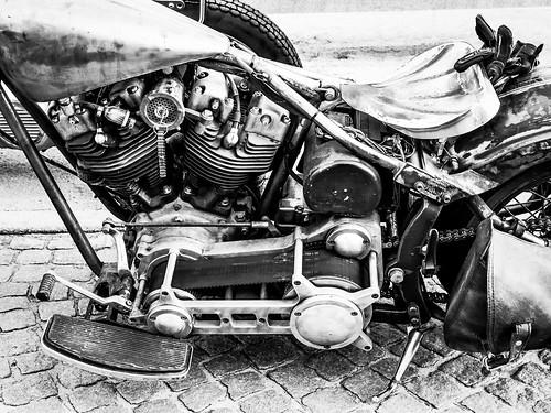 Custom made Harley