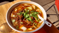 Spicy Noodle Soup with Beef @ My Noodles @ Paris (*_*) Tags: paris france europe summer 2016 august lunch montparnasse soup noodle chinese szechuan china lamian spicy beef nouilles fresh