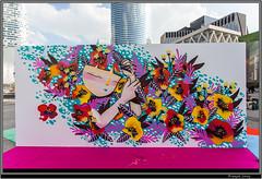 Urban Week La Defense - Julieta (Franois Leroy) Tags: franoisleroy france dfense puteaux parvis urbanweek streetart dessin grafitti julieta