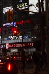 Ten Dundas East at night (jer1961) Tags: toronto torontoatnight 10dundas 10dundaseast tendundas tendundaseast neon signs dundasstreet dundassquare