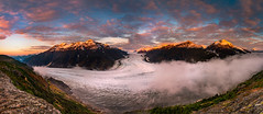 Morning Comes to Salmon Glacier (jd_hiker) Tags: sun salmonglacier landscape sunrises mountains subject canada mountwhitefraser britishcolumbia places glaciers
