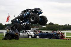 Chevrolet Silverado Monster Truck 'Grim Reaper' - Motor Madness UK 2016 - Leicester Racecourse (anorakin) Tags: chevrolet silverado monstertruck grimreaper motormadness uk 2016 leicesterracecourse