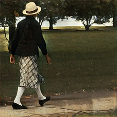 Lincoln Park (Renee Rendler-Kaplan) Tags: she there walking peoplewalking woman female hat lincolnpark october 2016 iphone iphoneography city lakefront chicagoist chicagoillinois wbez chicagoreader skirt jacket caughtmyeye reneerendlerkaplan park parkdistrict sidewalk outdoors outside cannondrive
