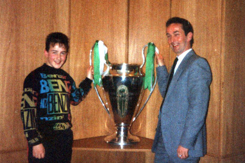 Jim and Derren Ward Euro cup Parkhead 1991