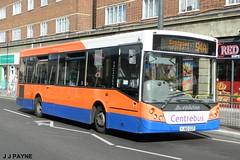 Centrebus (668) MCV Evolution - YJ60 GGP (J.J.Pay 8581) Tags: yj60ggp bus uk 54a transport midlands leicester