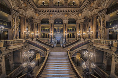 Palais Garnier (Manjik.photography) Tags: architecture arts beautiful building built decorations design elegant europe foyer france garnier gold golden grand hall historic house interior napoleon national opera operahouse palace palais paris place renaissance stair stairs stairway theater tourism tourist tower travel visit wealth manjik d810