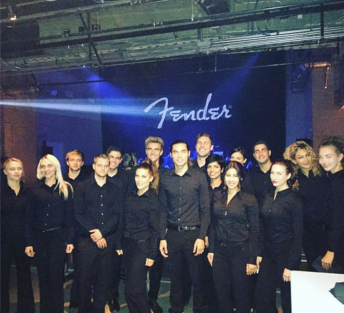 Ready set go! #fender event in @Hollywood. #staffing #events #eventlife #music #girlboss #200ProofLA #200Proof