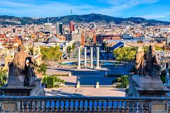 Montjuc Plaa d'Espanya (Context Travel) Tags: montjuc barcelona shutterstock