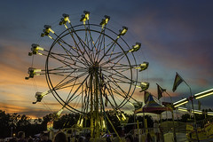 DSC_0232 faulkner county fair (snolic...linda) Tags: arkansas 501 fair amusementrides faulknercountyfair conwayarkansas fairuswheel night nightphotography lightpainting tiltawhirl fairrides longexposure dusk bluehour