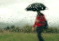 Red sweater (PattyK.) Tags: ioannina giannena giannina epirus ipiros balkans greece grecia griechenland hellas ellada europe europa europeanunion mycity whereilive lovelycity amateurphotographer nikond3100 autumn october 2016 red redsweater rain rainyday raindrops