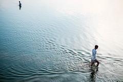 Fishermen (YY Hang) Tags: lake u bein mandalay myanmar burma fishing fisherman view 風景 fisher fujifilm