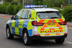 South Yorkshire Police BMW X5 Roads Policing Unit Traffic Car (PFB-999) Tags: south yorkshire police syp bmw x5 4x4 roads policing unit rpu traffic car vehicle lightbar grilles fendoffs leds yn15kcy