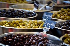 Olives en tout genre (La Pom ) Tags: var cote azur mer mditranne bormes les mimosas march olive
