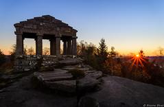 Temple du Donon, Alsace, France (Etienne Ehret) Tags: temple donon alsace vosges france lev de soleil sunrise light lumire sommet montagne nikon d610 2485mm