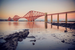 Forth Bridge (Ray Devlin) Tags: forth bridge south queensferry scotland firth firthofforth forthbridge nikon d800 nikond800 estuary scottish landscape lothian world heritage site engineering cantilever long exposure sunset