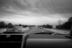 today. (jonathancastellino) Tags: road car dash hat roadtrip quebec highway leica m summicron cloud clouds lane wire wires