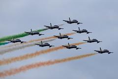 DSC_5450 (sauliusjulius) Tags: nato days ostrava 2016 czech air force september 17  18 leos janacek airport osr lkmt frecce tricolori 313 gruppo addestramento acrobatico aermacchi mb339