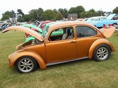 1971 Volkswagen Beetle (splattergraphics) Tags: 1971 volkswagen beetle vw volksrod carshow karbkings mobtowngreaseball dundalkmd
