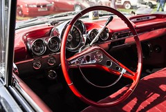 North West Vintage Rally (Ollie Smith Photography) Tags: vintage rally northwest halton cheshire widnes nikon d7200 lightroom sigma1750 car classiccars interior steeringwheel corvette chevy chevrolet