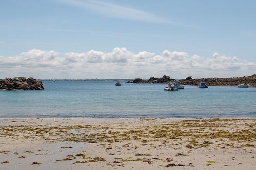 Plage sur l'Île de Batz